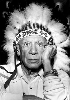 Picasso (wearing a Rolex GMT master)