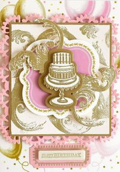 Wow! Anna Griffin's new Treasury collection of dies, inks, & more makes gorgeous cards! Can't wait  Jan 10th HSN! #celebr8annagriffin #annaversary