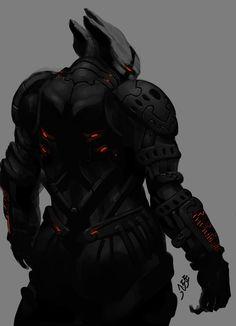 Alien Back by mohzart.deviantart.com