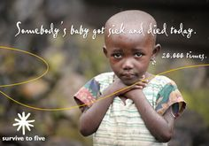 An ad from World Vision that touched me. I hope to go to Kenya one day to shine some light into the darkness.