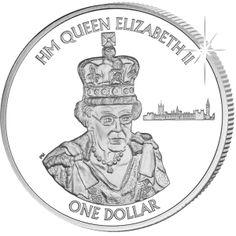 British Virgin Islands 2015 HM Queen Elizabeth II: Longest Reigning Monarch - Cupro Nickel $1 Coin