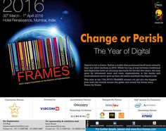 #ficciframes16 -- Behind businesses that fuel #media and #entertaiment!   We are excited to announce our 17th FICCI-FRAMES - 3-day global convention on the Business of Entertainment, from March 30 till April 1, 2016.   Join us for insights on the entertainment industry from industry professionals and insiders themselves. This year's panels include – Film, Gaming, Digital Technology, and Media.   Stay tuned! Further updates coming soon.