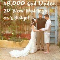 20 Dazzling weddings under 8,000k.