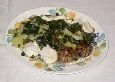 Sopa de Beldroegas com Queijinhos e Ovos