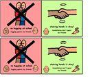 No hugging at school –