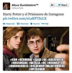 Harry Potter y el Prisionero de Instagram.