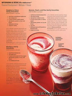 Making a homemade smoothie is a simple way to pack a lot of nutrition into one on-the-go meal or snack. #smoothies #nutrition #healthy #recipies