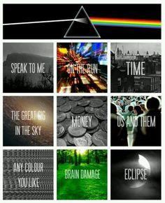 ☮ American Hippie Classic Rock Music ~ Pink Floyd . . . Album Cover Art poster