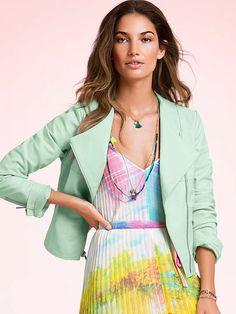 Victoria's Secret Knife-pleat Maxi on shopstyle.com