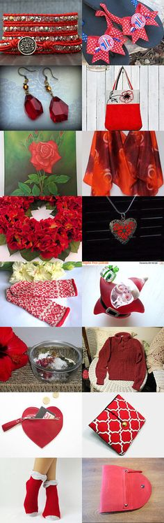 2165 - Just another RED Treasury! :) by Shelley on Etsy--Pinned with TreasuryPin.com