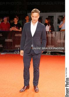 Tom Wlaschiha and Ken Duken at the premiere of Berlin Falling at the Film Fest in Munich