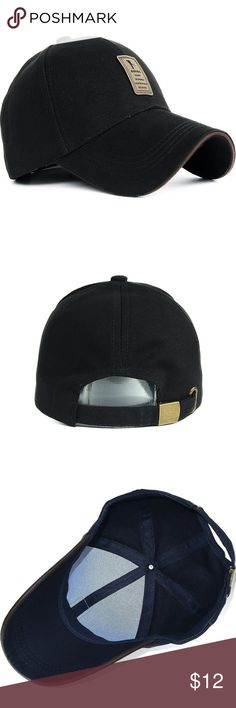 NEW Sports Hat Baseball Cap Item Type: Baseball Caps Department Name: Adult Style: Fashion/Casual Gender: Men/Women Material: Cotton,Faux Leather,Polyester Strap Type: Adjustable Pattern Type: Solid Color: Different Colors Hat Size: One Size 56-62cm Accessories Hats