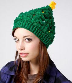 gorro navideno en crochet | Gorro de navidad en fredflare.com | Yo Utilísima