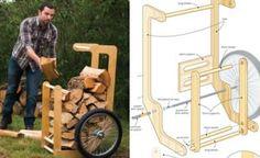 Firewood Cart Plans