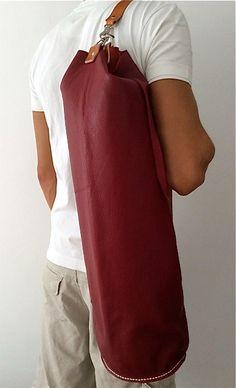 Yoga / Pilates Mat Bag / Yoga mat bag por proyecto54 en Etsy