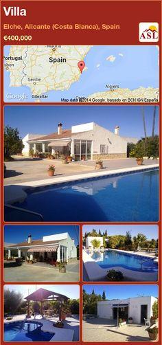 Villa in Elche, Alicante (Costa Blanca), Spain ►€400,000 #PropertyForSaleInSpain
