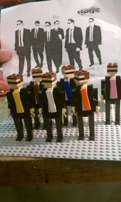 The cast of Reservoir Dogs | 24 Unexpectedly Awesome Lego Creations