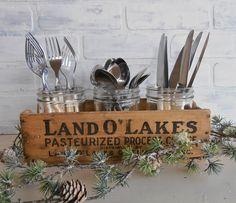 Vintage Land O' Lakes Cheese Box American. $8.00, via Etsy.