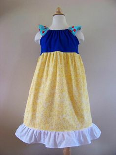 Snow White Sundress by My Kids Drawers:   https://www.facebook.com/pages/My-Kids-Drawers/223718661039360 https://www.etsy.com/shop/mykidsdrawers