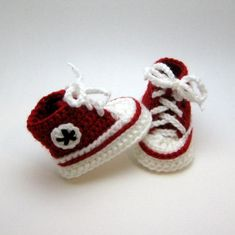 Looking for your next project? You're going to love Baby Converse Booties by designer Smuckers.