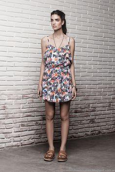 Vestidos cortos de verano 2015 Ayres.
