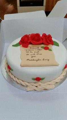 Fairwell cake