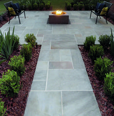 Natural Paving Products (UK) Ltd is the UK's leading independent supplier of high quality, ethically sourced natural stone landscaping products. Paving Stone Patio, Paving Slabs, Outdoor Paving, Stone Landscaping, Bluestone Patio, Backyard Landscaping, Sandstone Paving, Paving Stones, Garden Slabs