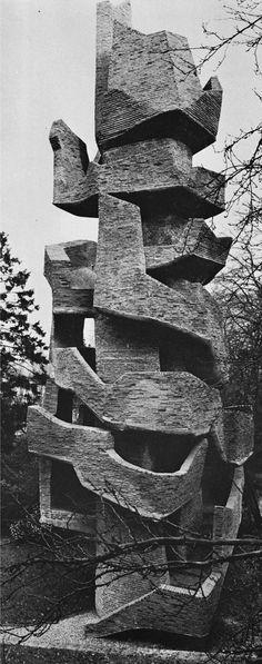 André Bloc (1896-1966) | Sculpture-Habitacle Nº3 | Meudon, France | 1966