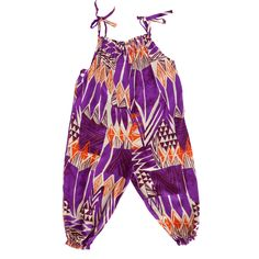 Baby/Toddler Jumper - Purple Tribal
