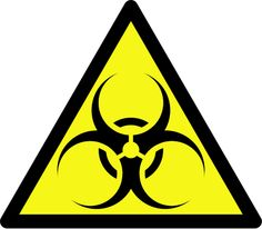 Biohazard Sign ZOMBIE BIRTHDAY PARTY