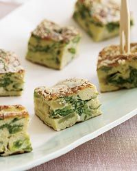 Mustard Green-and-Sweet Onion Frittata Recipe from Food & Wine. Although high in cholesterol, eggs are a terrific source of bone-building vitamins D and K. Here, they're combined with nutrient-rich mustard greens in this healthy frittata.