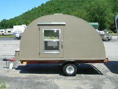 Homemade Teardrop Camper   Homemade Teardrop Trailers Make Comeback