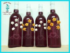 Decoración de botellas/Atelier Cóco