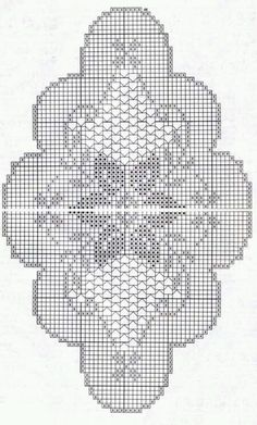 Graphiques au crochet variés - picture for you Crochet Table Runner Pattern, Free Crochet Doily Patterns, Crochet Doily Diagram, Crochet Tablecloth, Crochet Chart, Crochet Motif, Crochet Designs, Hand Crochet, Knit Crochet