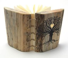 Rustic Wedding Guest Book -