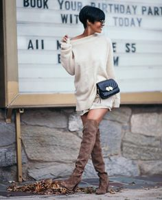 August 223 Kommentare Kyrzayda Rodriguez (Kyrzayda Rodriguez) e LB // Fashionista Chic Outfits, Fall Outfits, Fashion Outfits, Womens Fashion, Mode Shorts, Outfit Invierno, Mein Style, Bohemian Mode, Mode Chic