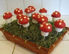 mushroom cake pops - Google Search