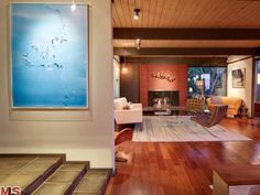 #Scarlett #Johansson #Painting #Living #Room #Different #Floors #StudioInterio #SI