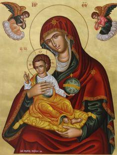 Theotokos (Mother of God) Raphael Angel, Archangel Raphael, Religious Images, Religious Art, Roman Mythology, Greek Mythology, Jesus Christus, Peter Paul Rubens, Albrecht Durer