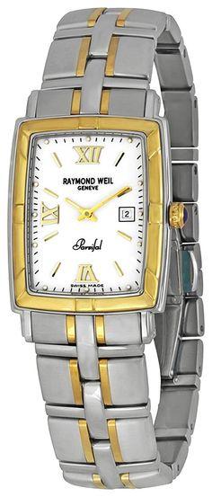 Raymond Weil Men'S 9340-Stg-00307 Parsifal White Textured Dial Watch