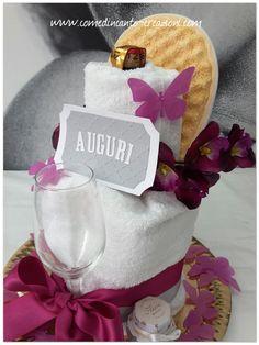 Towel cake - torta di asciugamani - idea regalo per compleanno - come d'incanto - carlinifd