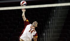 USC outside hitter Tony Ciarelli, who will lead the Trojans in the NCAA men's volleyball Final Four, was announced as the national player of the year by the American Volleyball Coaches Assn.