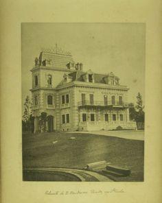 Álbum de São Paulo - 1889 - Palacete de Dona Veridiana Prado