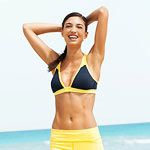 Banish Ab and Back Fat So long, bra bulge and muffin top! Our 2-in-1 workout provides all the cardio and core toning you need to blast away fat and reshape your middle for good.