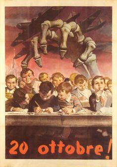 Historium. Bombardeo de Gorla, Italia. Murieron 184 niños en una escuela