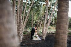 Black Sand Beach Big Island Wedding
