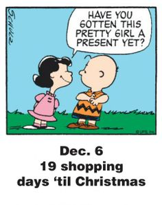 Dec. 6 - This is a classic countdown panel from 2009