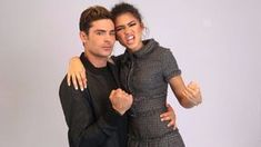 Image result for zendaya and zac