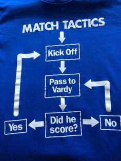 Leicester City football fans will understand.