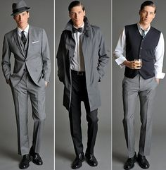 i don't usually pin men's fashion, oh my lord. did anyone else know that Banana Republic collaborated with Mad Men's costume designer in 2011?! this man couldn't look more slick and suave.